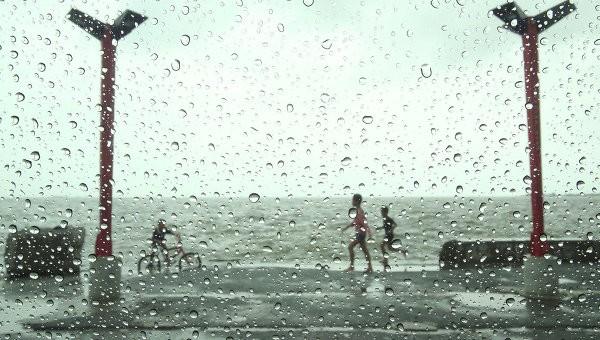 К Японии приближается мощный тайфун