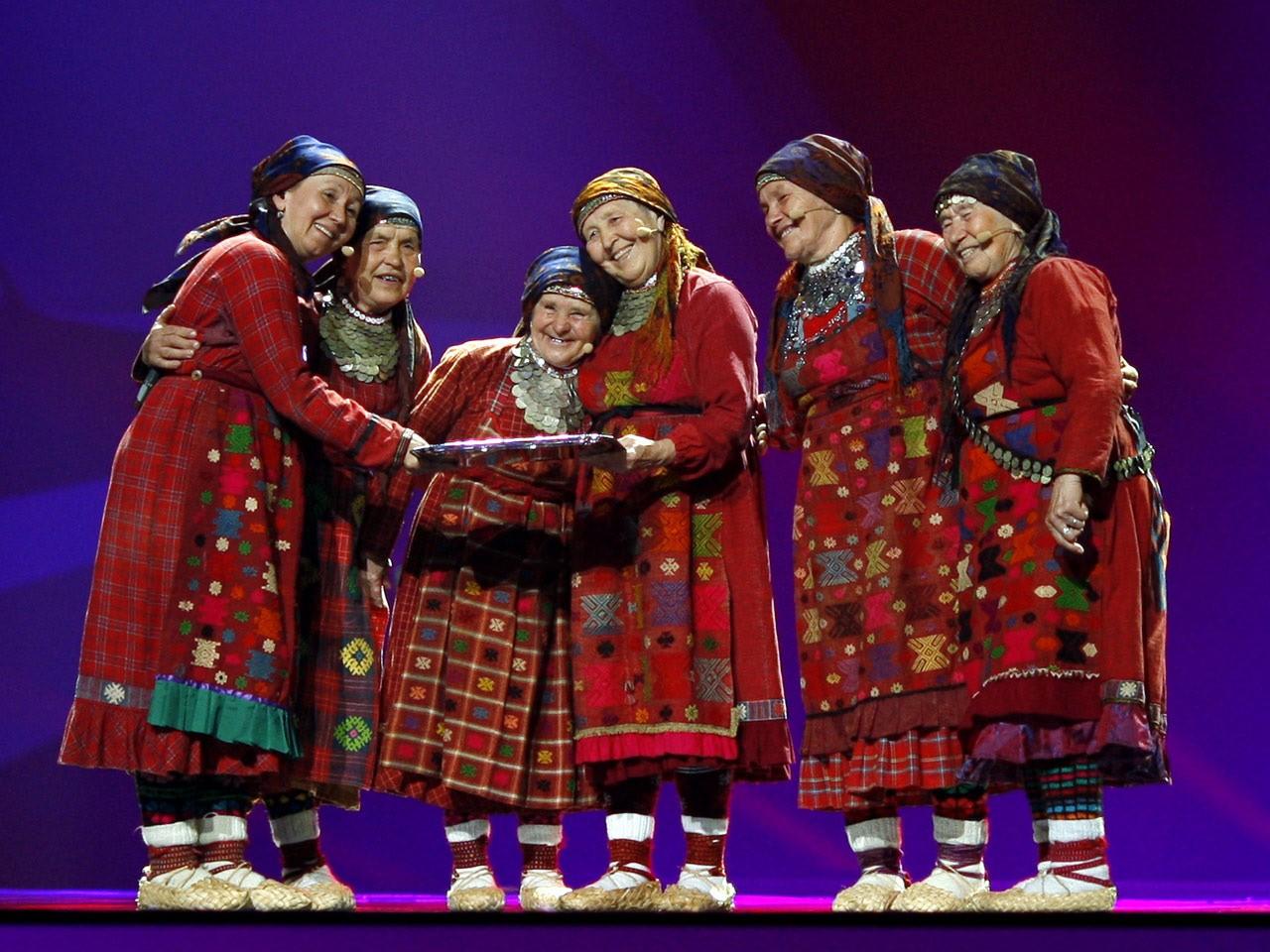 «Бурановские бабушки» выступили вЙоэнсуу нафестивале
