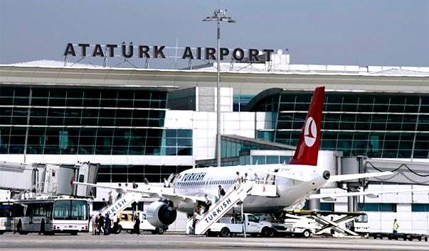 Стамбульский аэропорт имени Ататюрка закрыт из-за угрозы взрыва