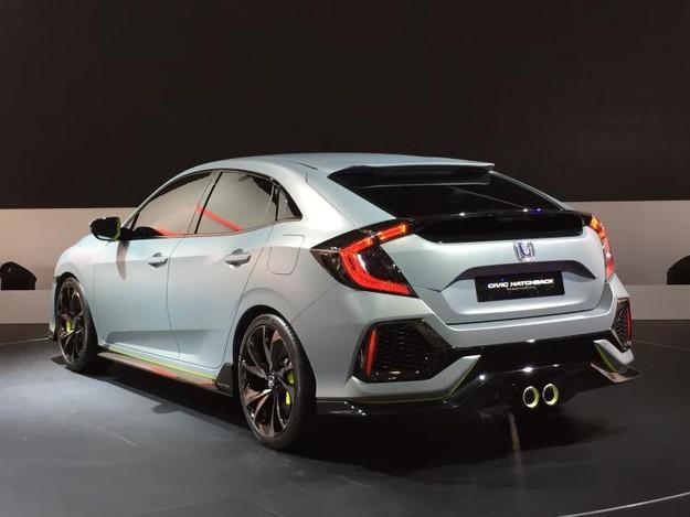 Японцы покажут новый Civic Type Rосенью встолице франции