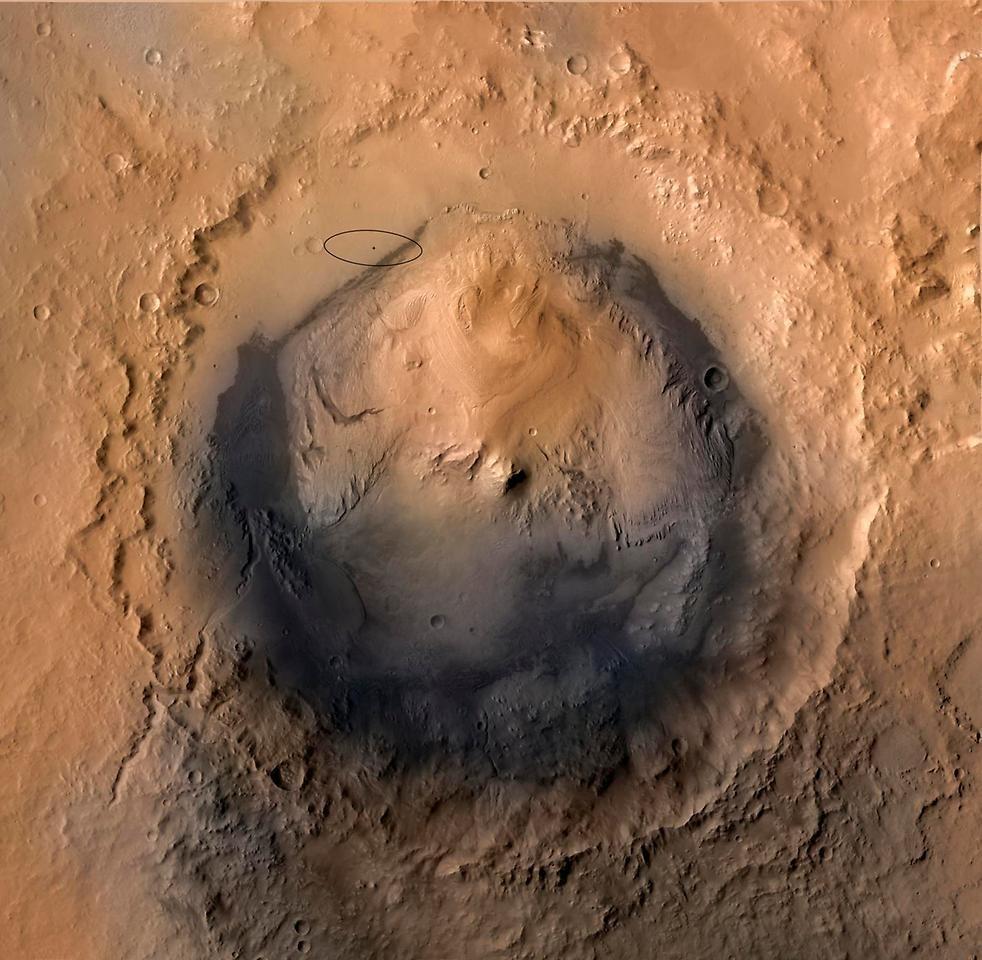 Учёные определили вкус воды на Марсе в древности