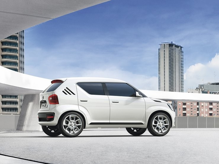 Сузуки представит кроссовер Ignis осенью на автомобильном салоне встолице франции