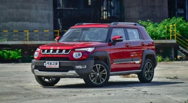 В «Поднебесной» начинаются продажи компактного кроссовера встиле Jeep