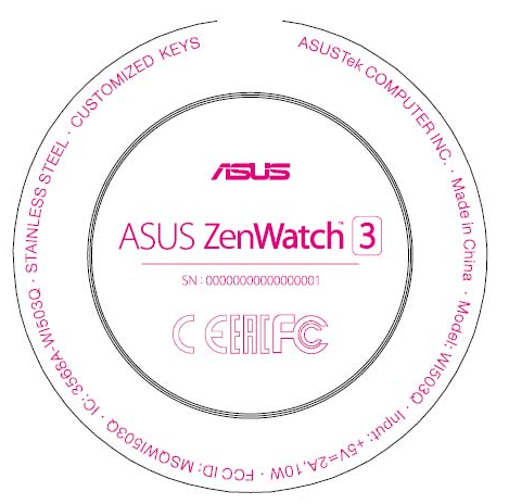 Смарт-часы ASUS ZenWatch 3 выйдут скруглым экраном