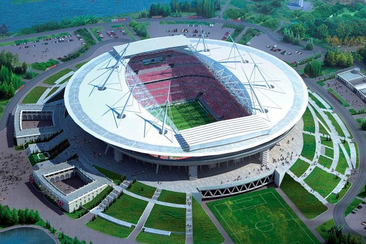 Виталий Мутко проинспектировал стадион «Крестовский»