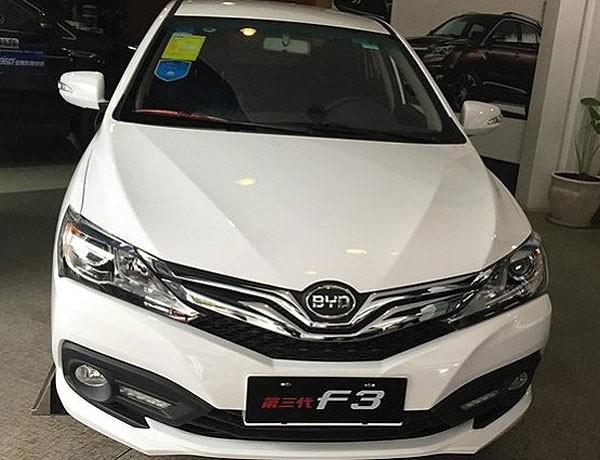 На рынке автомобилей Китая появится обновлённый BYD F3