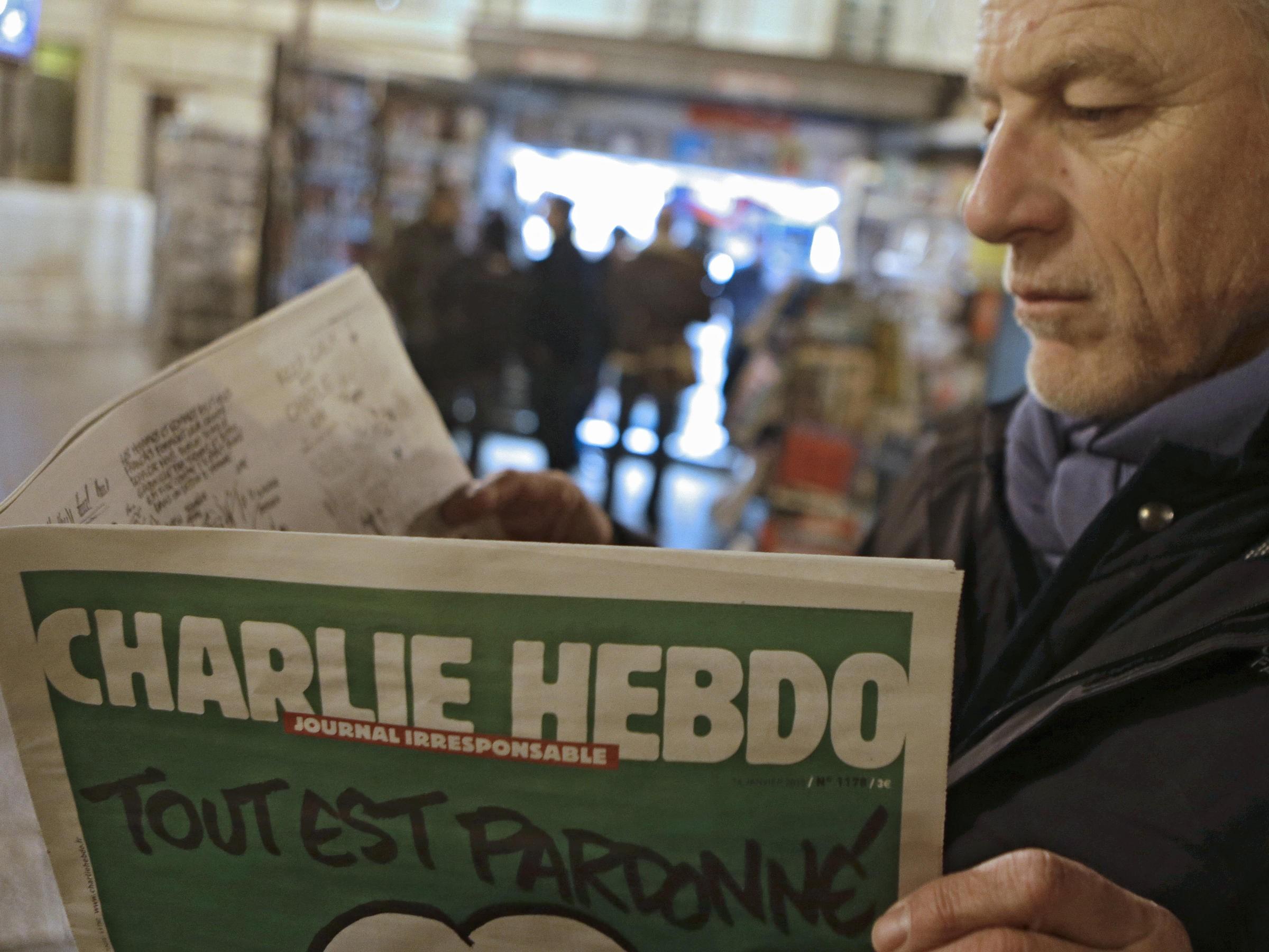 Сатирическому журналу Charlie Hebdo угрожают из-за рисунка голых мусульман