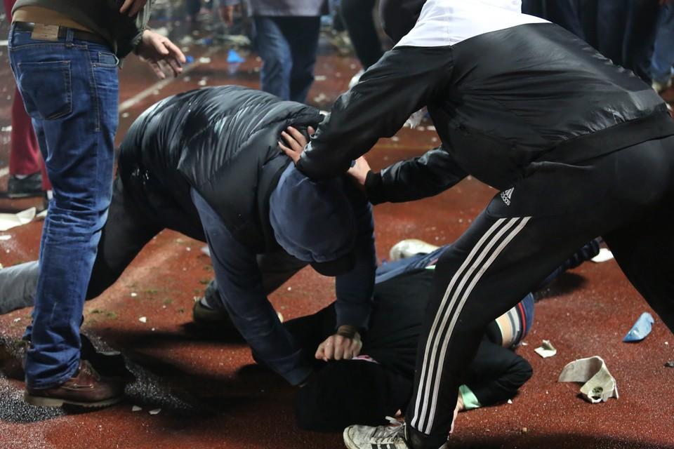 Вмассовой потасовке вцентральной части Москвы принимали участие граждане Астрахани