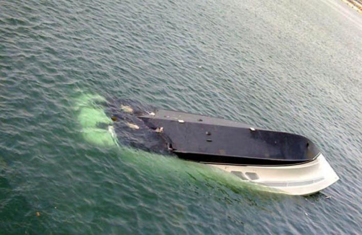 Уберегов Приморья обнаружили перевёрнутую яхту без людей