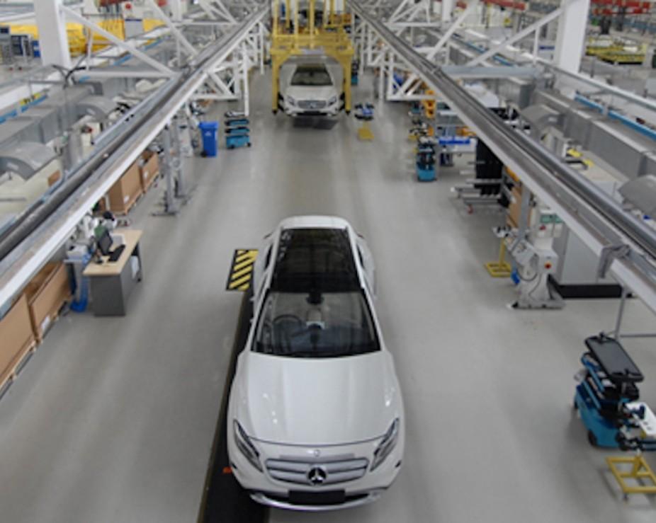 Benz вынашивает в собственных планах начать выпуск машин в РФ