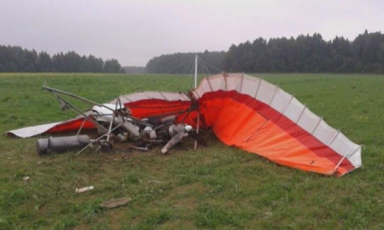 НаКубани упал дельтаплан, два человека погибли
