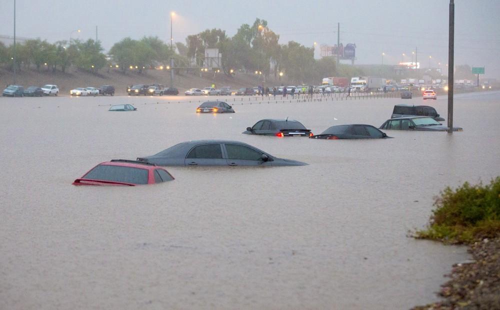 Наводнение вЛуизиане: вштате объявлено чрезвычайное положение