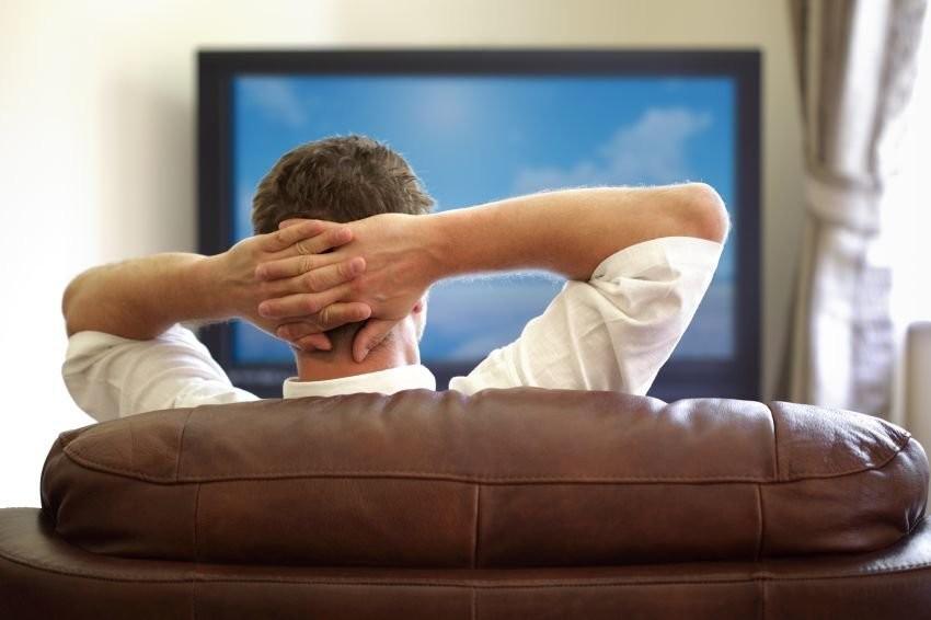 Просмотр телевизора рискован для здоровья мужчин— Ученые
