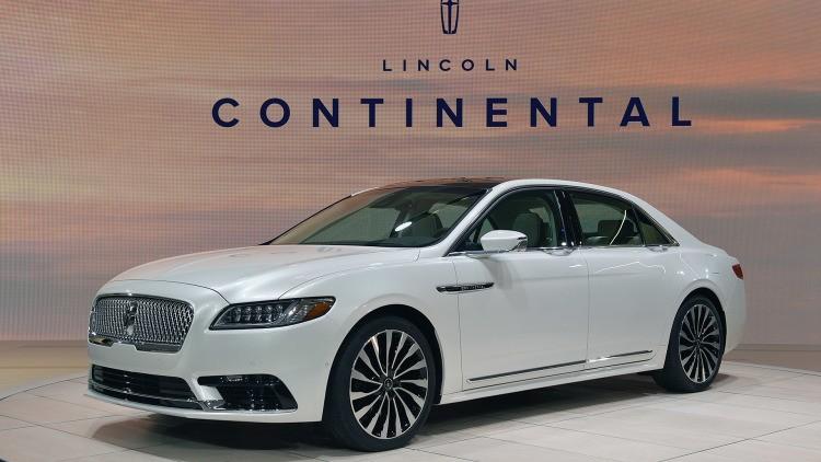Новый седан Lincoln Continental начнёт продаваться в КНР со 2 сентября