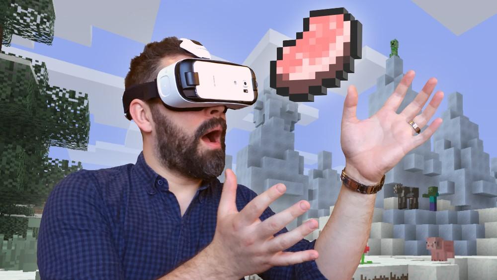 Апдейт для Minecraft, поддерживающий Oculus Rift, уже доступен для скачивания