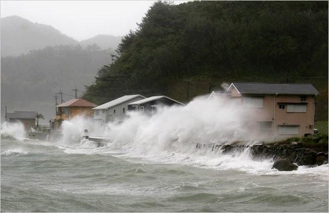 Тайфун «Омаис» обвалился наяпонский остров «Хоккайдо»
