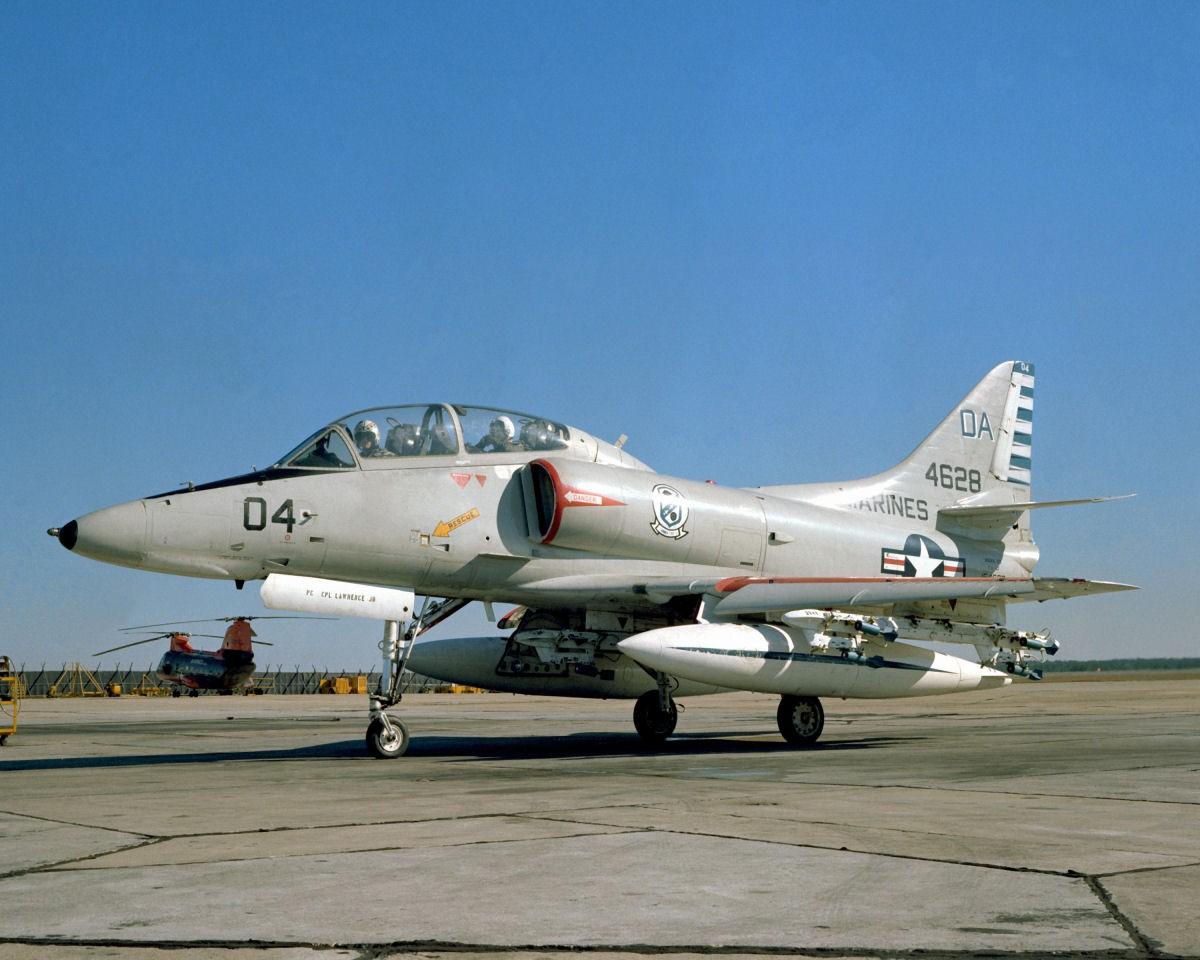 Около  Лас-Вегаса разбился самолет ВВС США