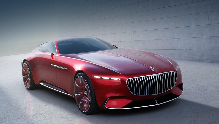 Mercedes представил концептуальный автомобиль 6-метрового электрокара Maybach