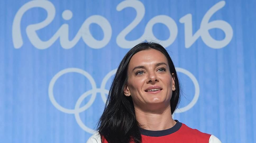 Исинбаева нестала отрицать, что может принять участие вОлимпийских играх