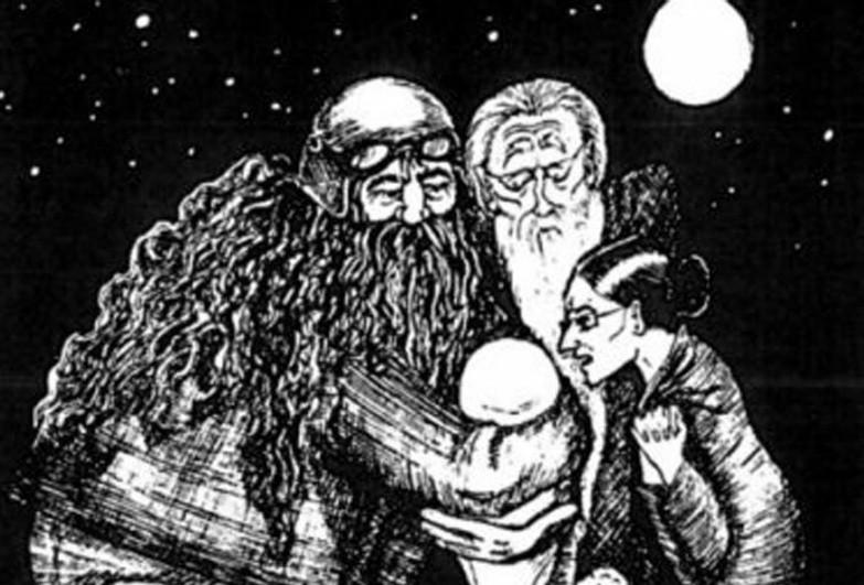 Роулинг сама проиллюстрировала Гарри Поттера