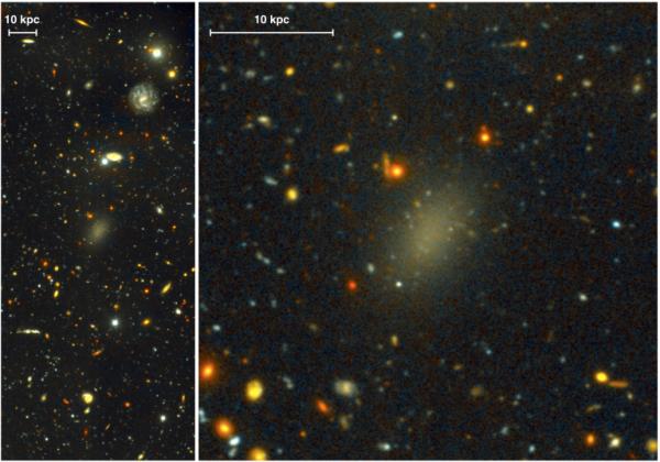 Ученые отыскали галактику из черной материи