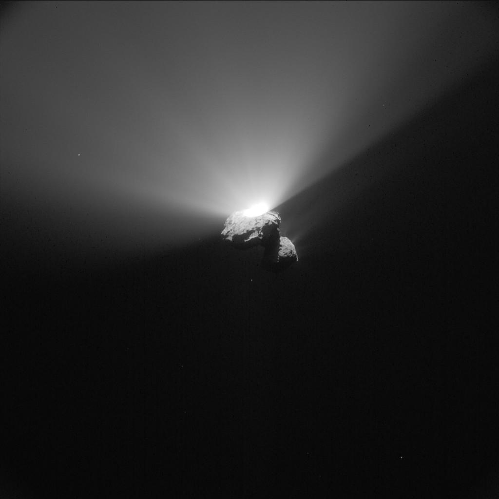 Оползень привел квспышке кометы Чурюмова— Герасименко