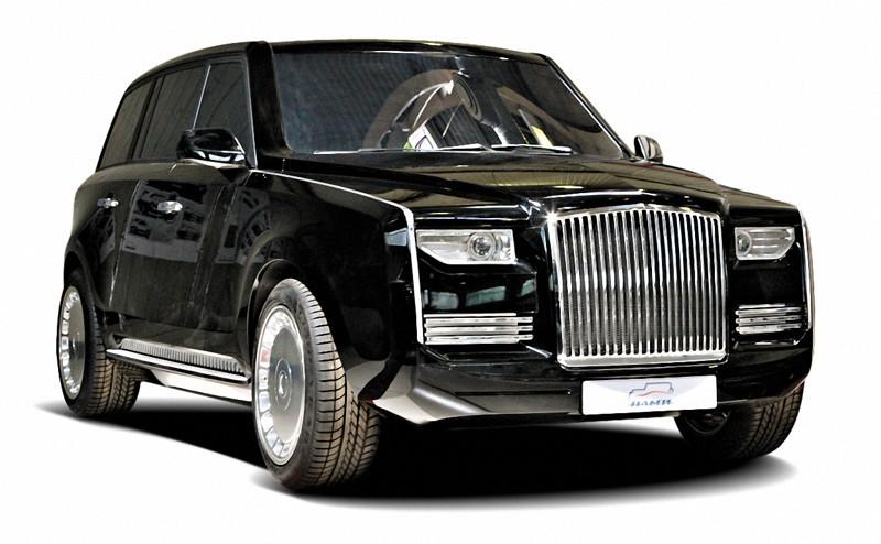 В столицеРФ представлен 857-сильный мотор лимузина для президента