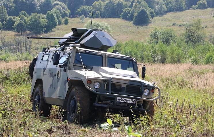 ВПК создала беспилотный бронеавтомобиль