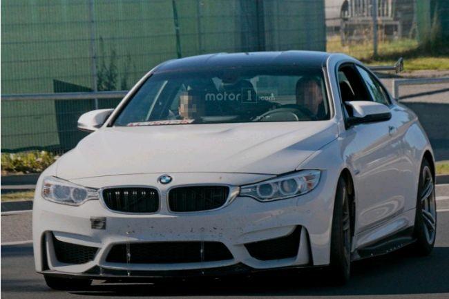 Компания БМВ начала тестирование M4 Coupe