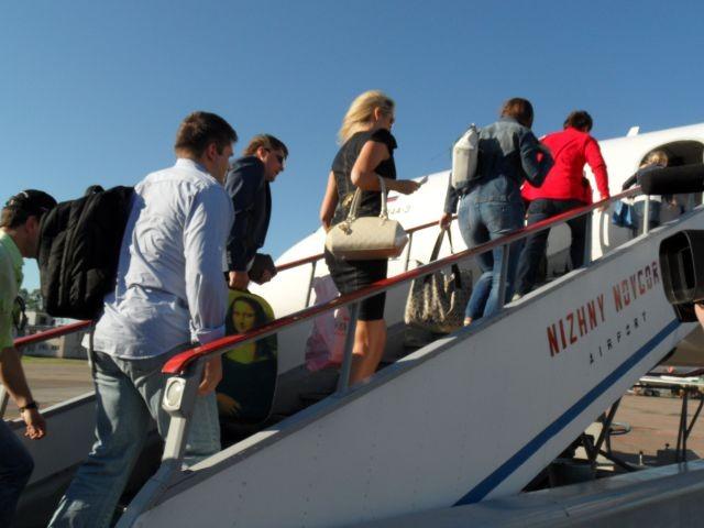 Авиаперевозки пассажиров вРФ вянваре-июле уменьшились на8,2%