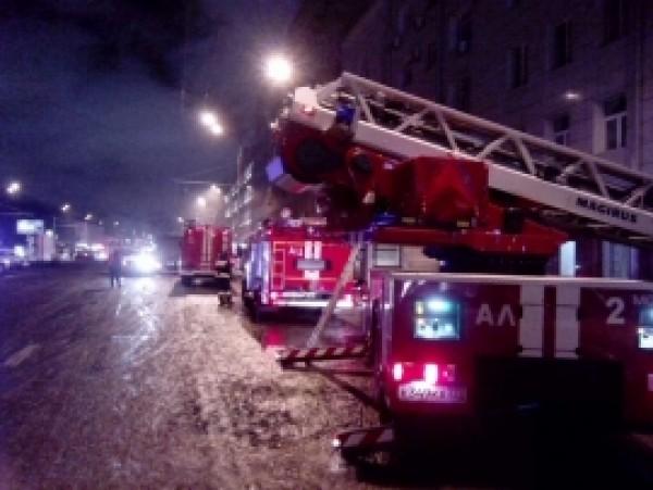 Впожаре наскладе в российской столице погибли 16 человек