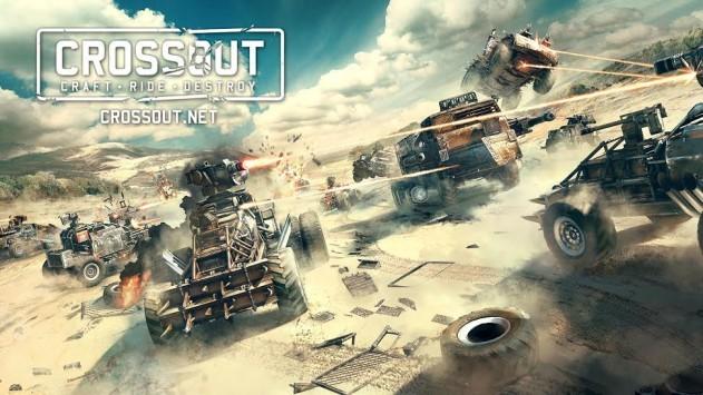 MMO-экшен Crossout вышел враннем доступе вSteam