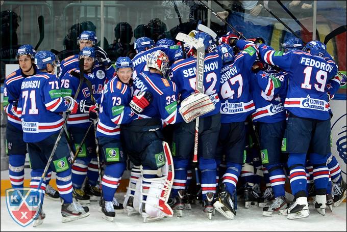 СКА в северной столице обыграл «Магнитку» благодаря дублю Барабанова