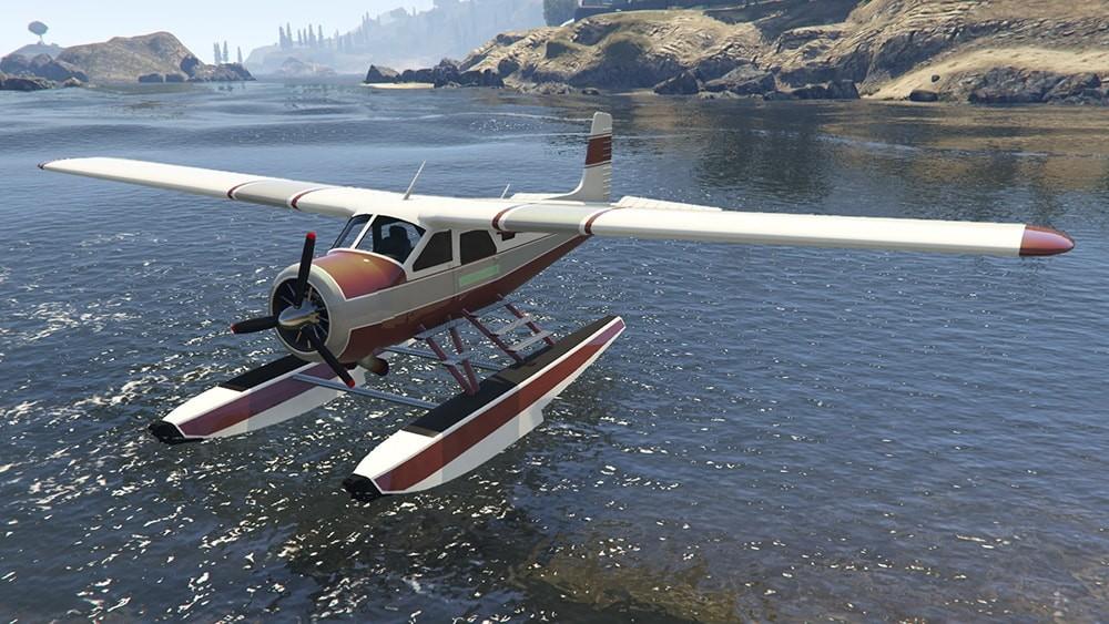 ВНовом Орлеане возеро рухнул самолёт