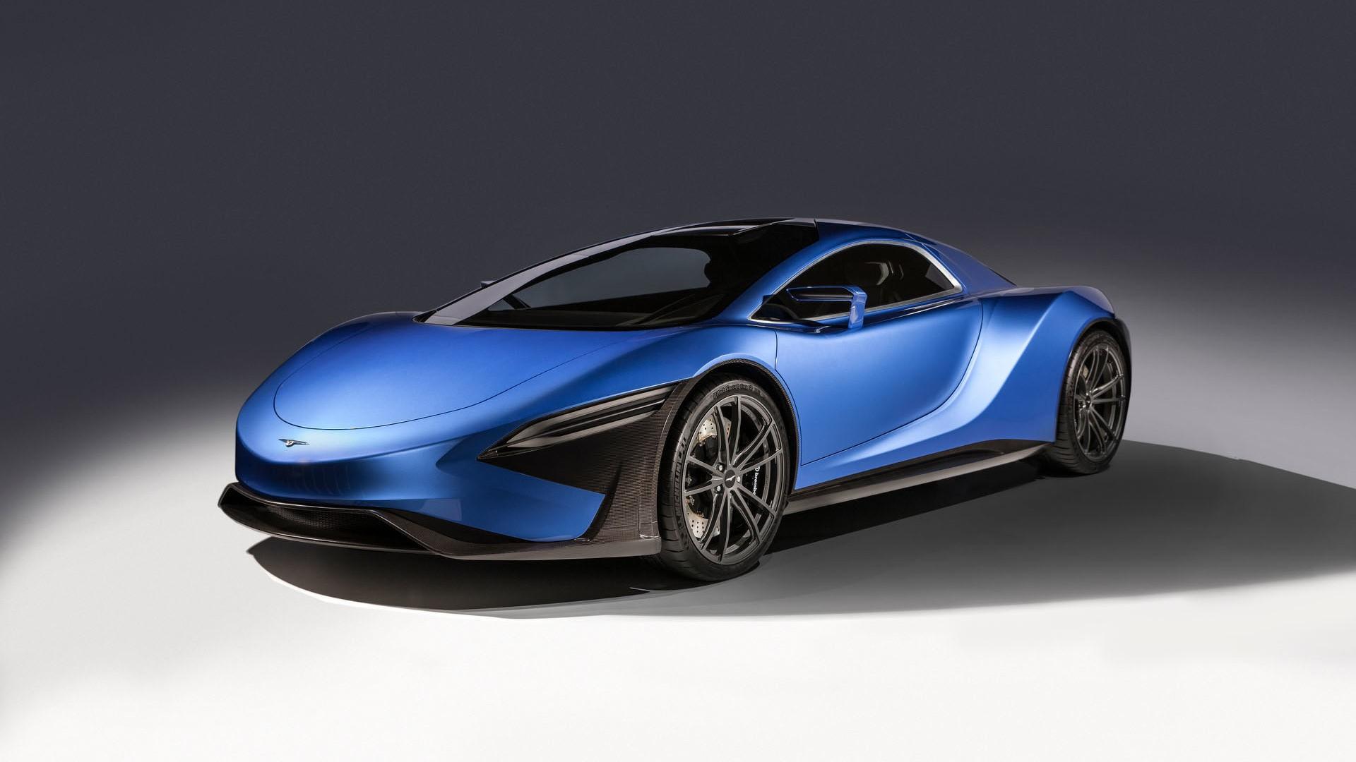 Презентация суперкара GT96 отTechrules запланирована на следующий год