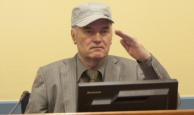 Ратко Младич находится при смерти