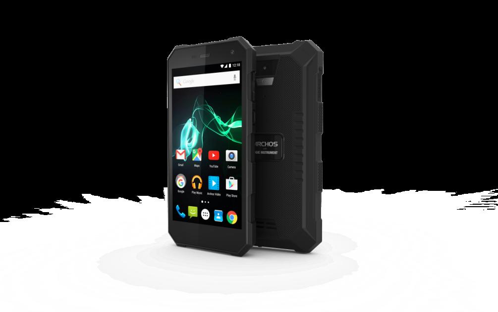 Archos 50 Saphir— защищенный смартфон саккумулятором на5000 мАч