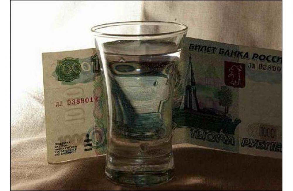 Министерство финансов может повысить стоимость водки