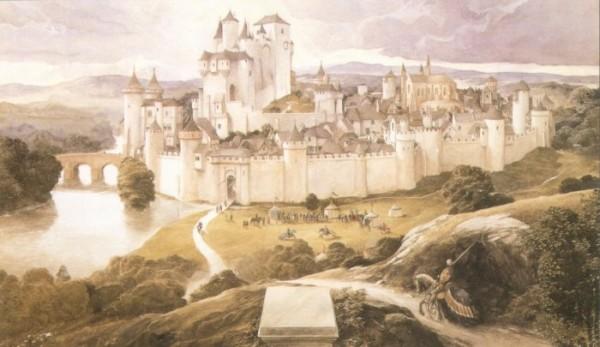 Найден древний замок, который по всем признакам мог принадлежать Королю артуру