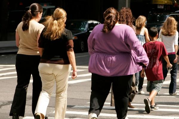 Средний вес американцев сильно изменился за последние 40 лет
