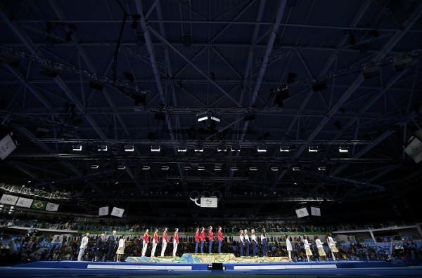 Россия  опустилась на седьмое место в медальном зачёте Рио