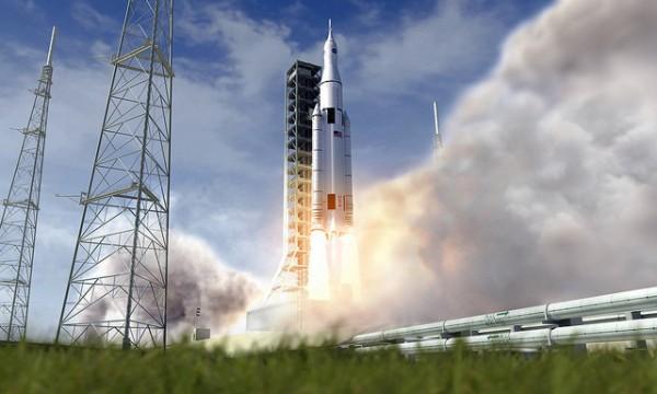 Новая ракета Space Launch System побила рекорд грузоподъёмности