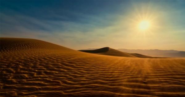 На земле есть пустыня, которая очень схожа с поверхностью Марса