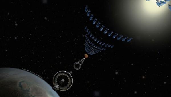 Космический поезд позволит добраться до Марса за 37 часов