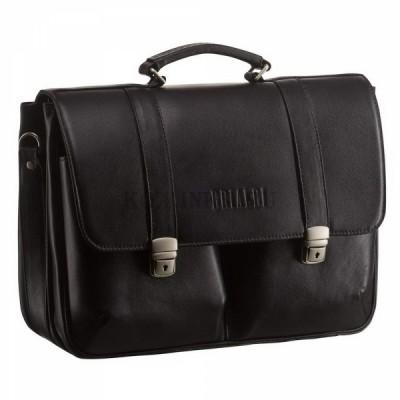 Кожаный мужской портфель – стиль и оригинальность
