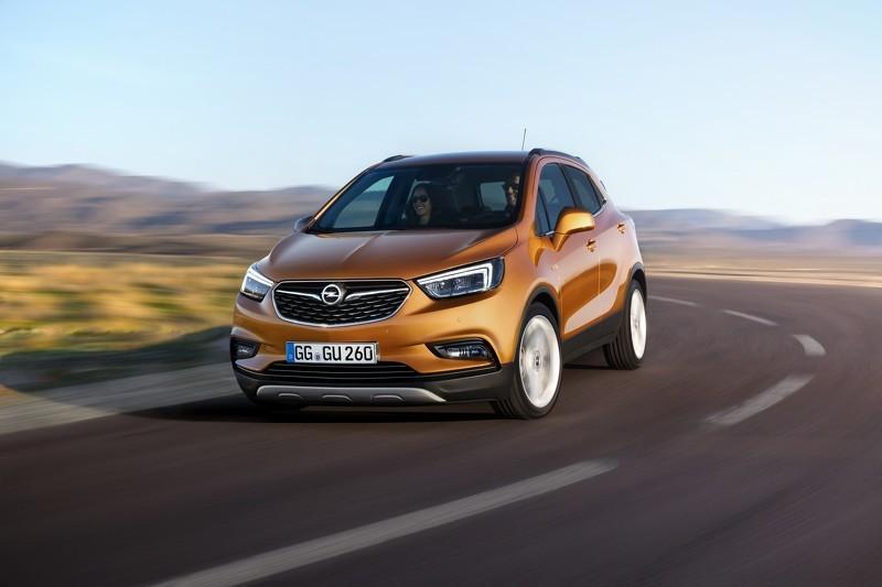 Кроссовер Opel Mokka X запущен в серийное производство