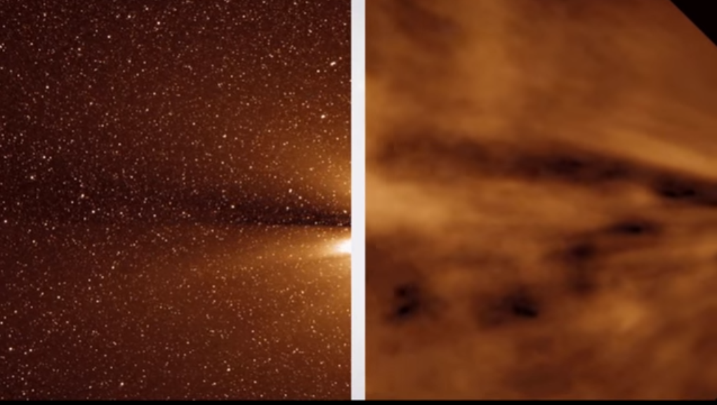 NASA впервый раз удалось закрепить солнечный ветер