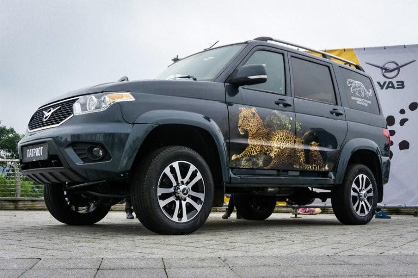UAZ представил улучшенный вседорожный автомобиль Патриот