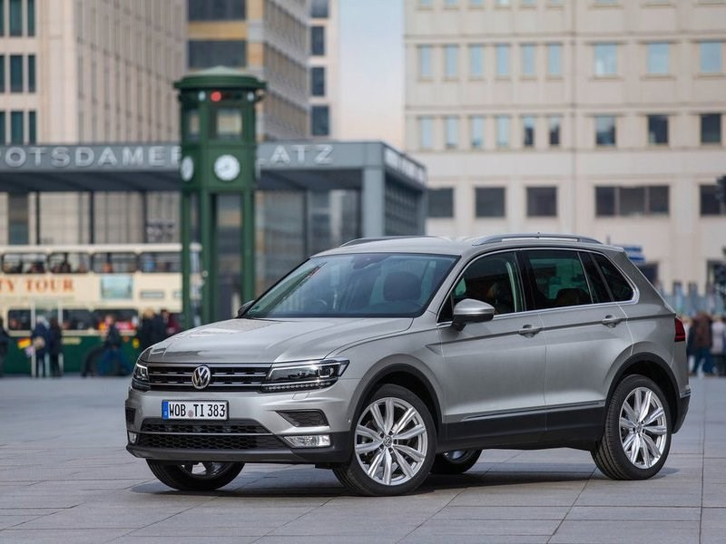 Озвучены новые цены на VW Tiguan
