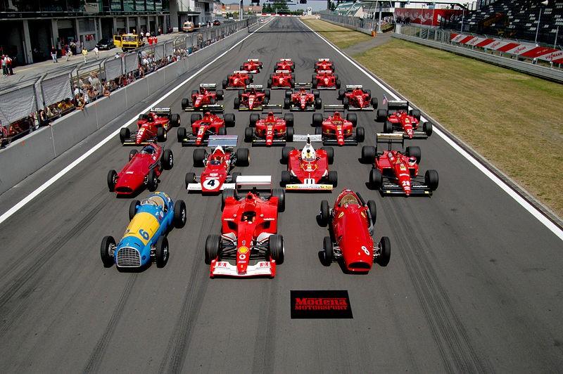 Лучший во 2-ой практике «Гран-при Итали»